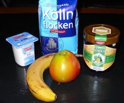 Joghurt-Honig-Müsli