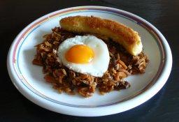 Reisfleisch – Nasi Goreng